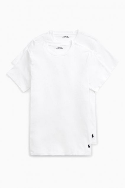 Polo Ralph Lauren 2-balení triček - bílá