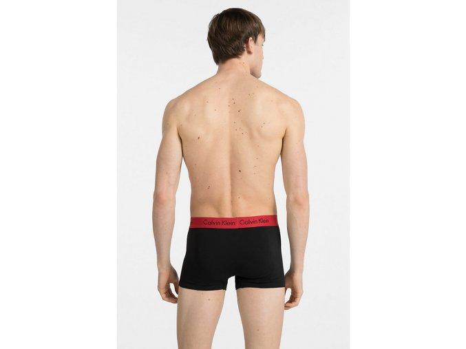 Calvin Klein Modern Cotton boxerky 2- balení - black/red