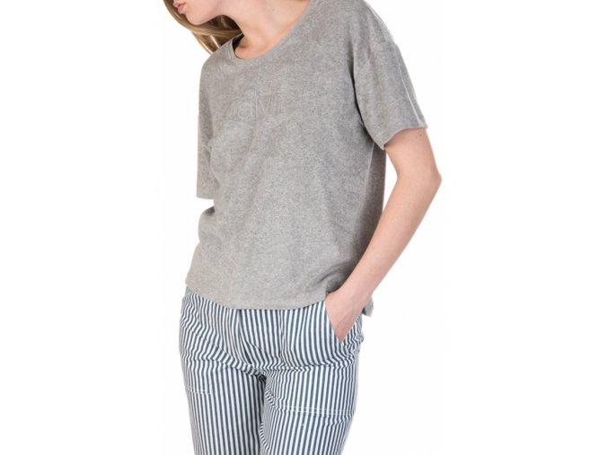 Calvin Klein terry tričko - šedé