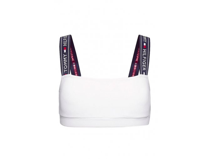 Tommy Hilfiger Strap Logo braletka - bílá