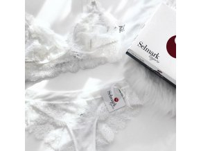 Selmark SET Lace Oceanne Podprsenka + Kalhotky Ivory