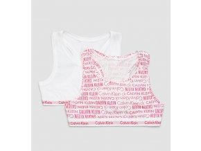 PRO DĚTI! Calvin Klein 2 balení Girls Bralette - Logomania