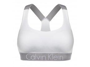 Calvin Klein Customized Stretch braletka - bílá/stříbrná