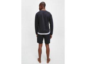 Calvin Klein Iconic Mikina pánská - černá