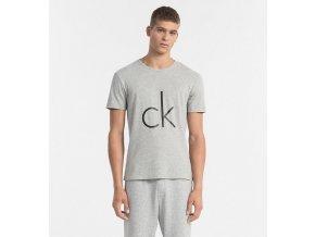 CK Logo Tričko pánské - šedé