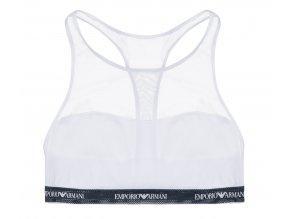 Emporio Armani Sporty Lace podprsenka  - bílá