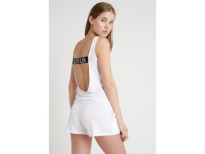 Calvin Klein Intense Power Scroop back romper- bílá