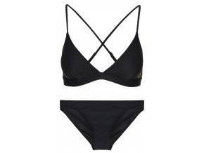 Calvin Klein NYC Triangle + bikini -black