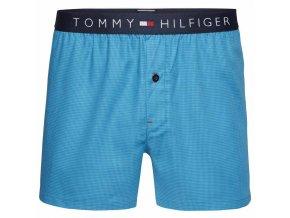 Tommy Hilfiger Logo Trenýrky - tyrkysové