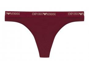 Emporio Armani Microfiber tanga -  rhubarb/gold