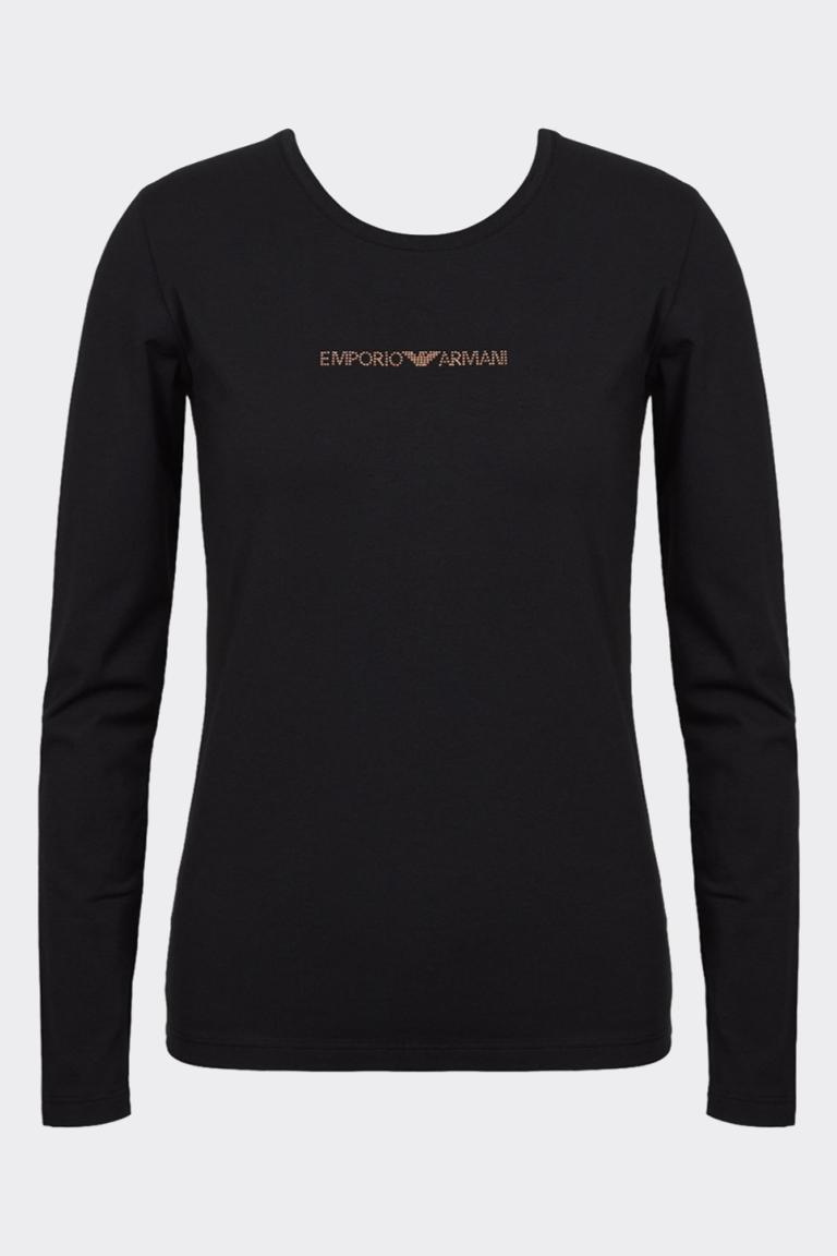 Emporio Armani Underwear Emporio Armani Visibility cotton tričko dlouhý rukáv - černé Velikost: XS