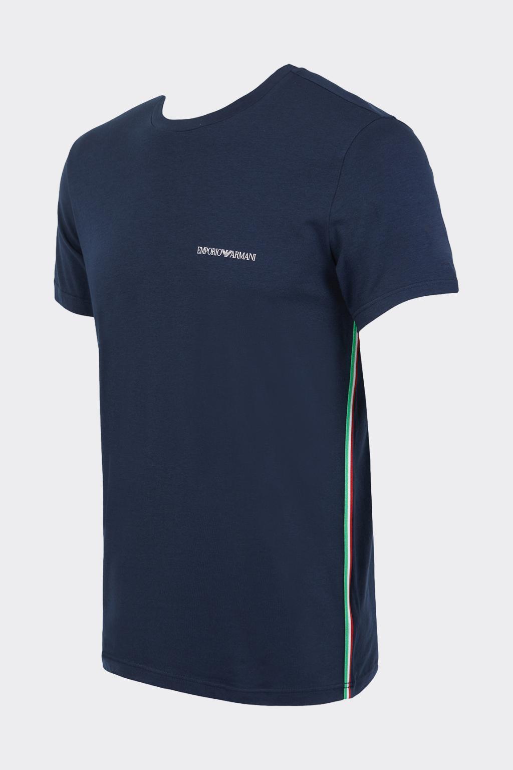 Emporio Armani Underwear Emporio Armani iconic tričko pánské - tmavě modré Velikost: L