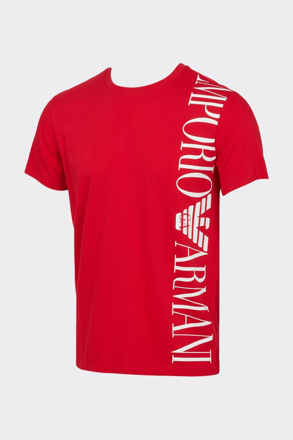 Emporio Armani Underwear Emporio Armani tričko pánské - červená Velikost: M