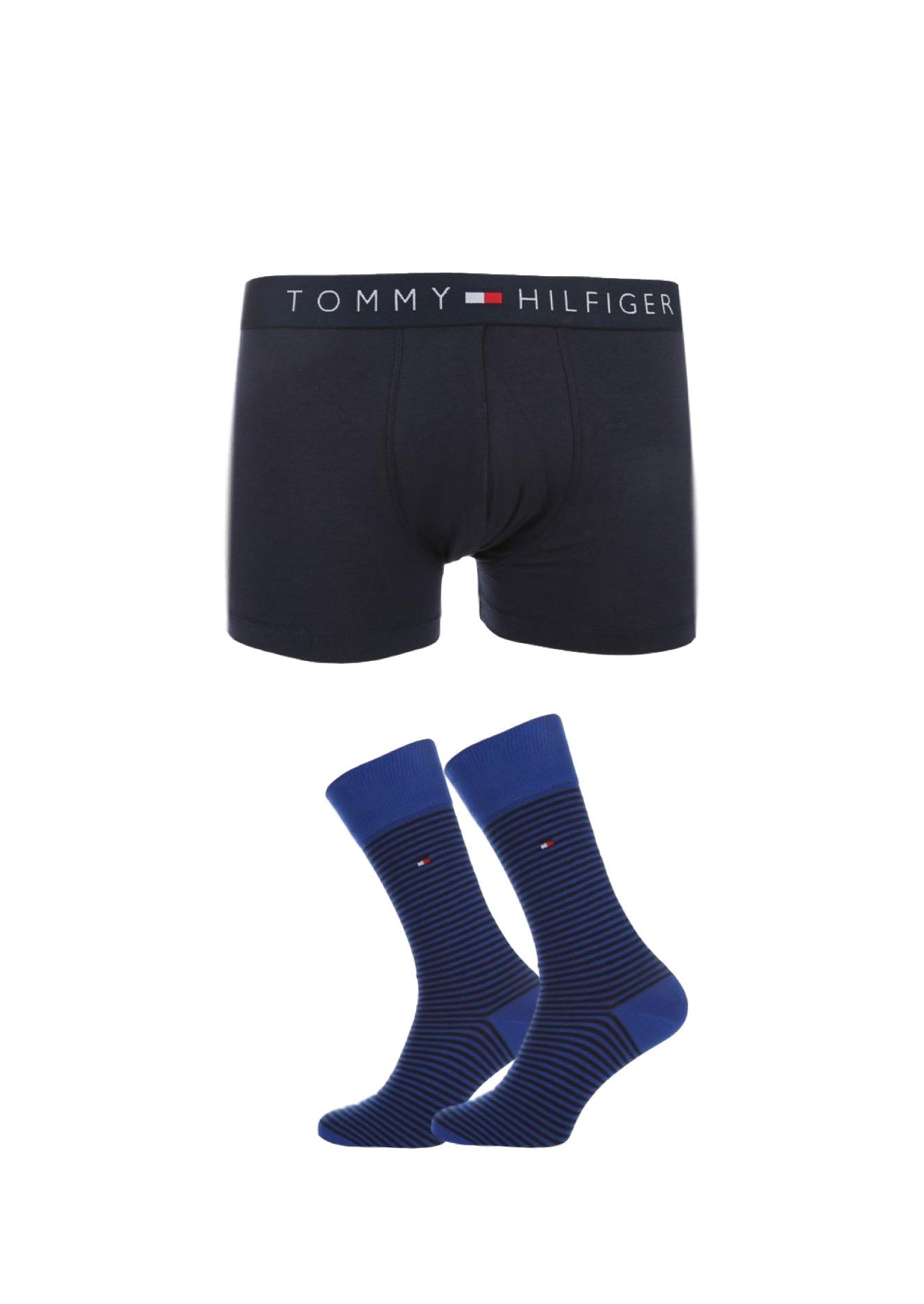 Dárkové balení pro něj: Tommy Hilfiger boxerky + ponožky Velikost: S