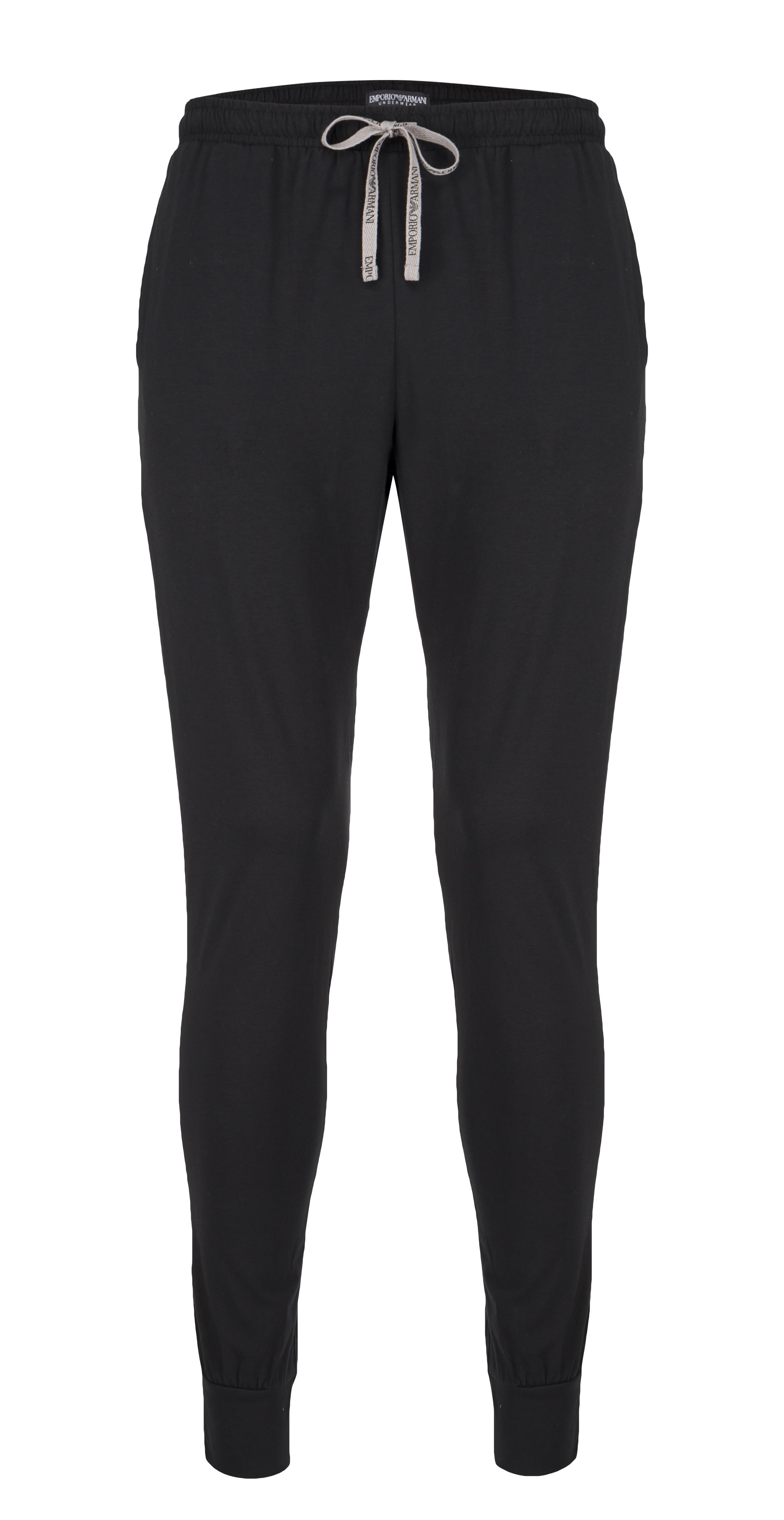Emporio Armani Underwear Emporio Armani pánské tepláky - černé Velikost: XL