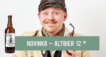 Novinka! Beranův Altbier 12 °