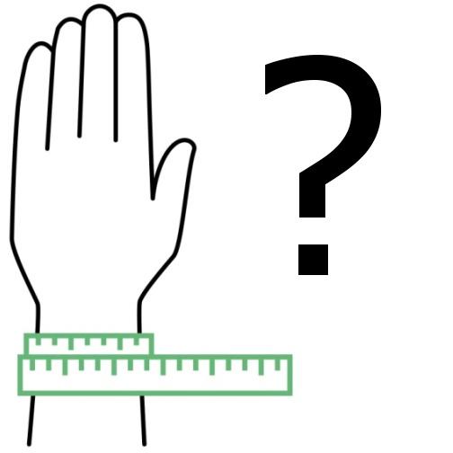 Jak vybrat velikost náramku BeRare