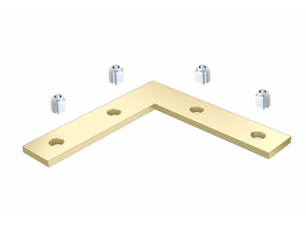 full angular connector 90 degree