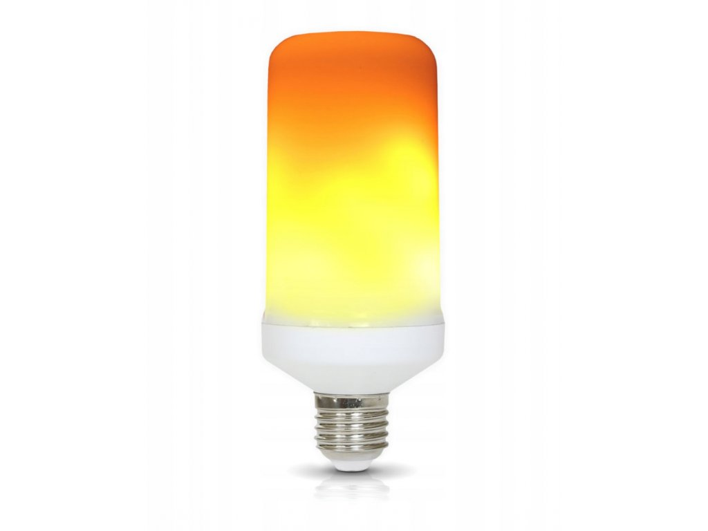 full led zarovka dekorativni flame 5w