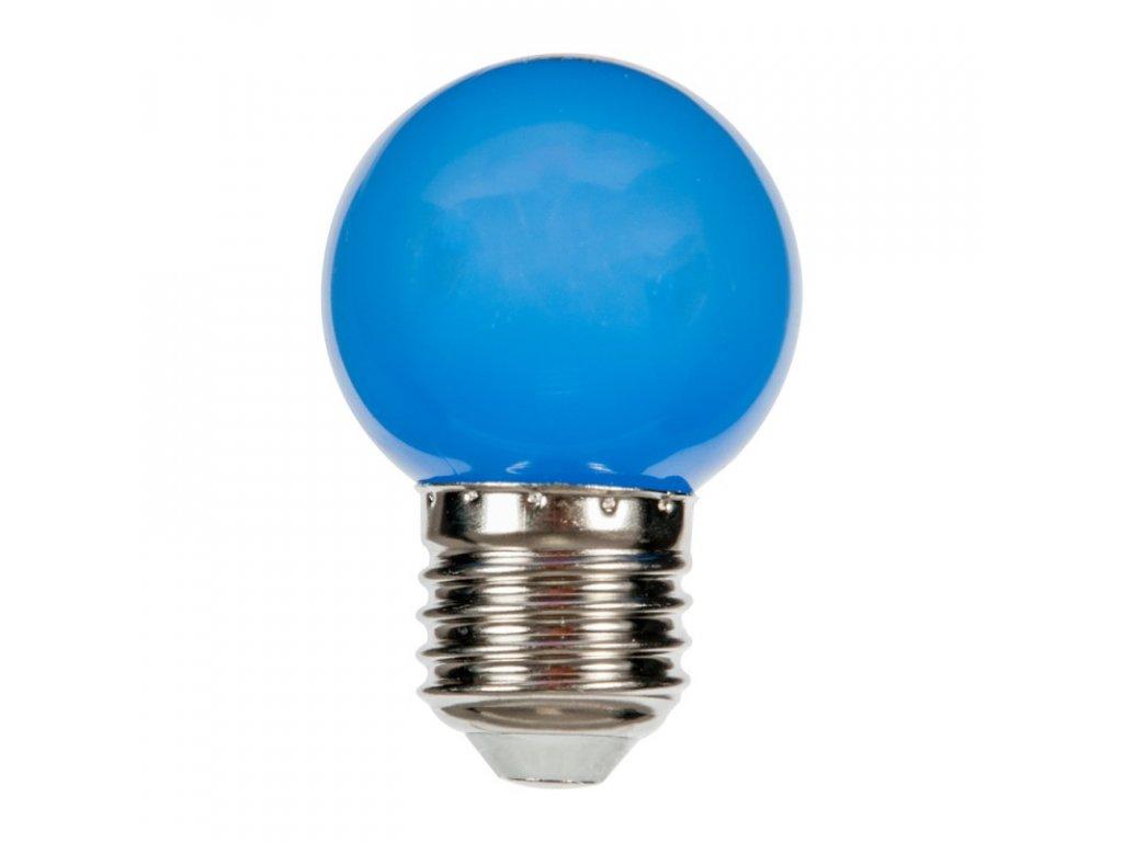 full zarovka e27 2w modra