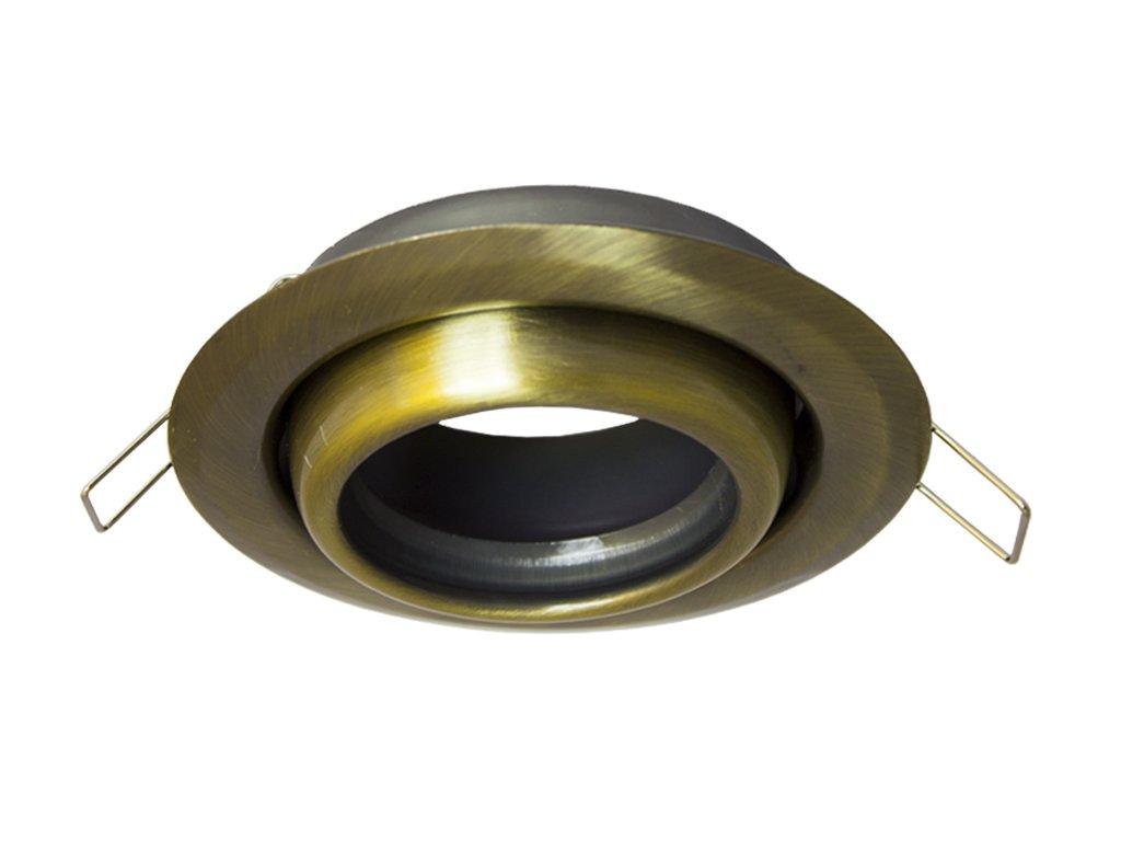 full led bodovky kruh mosaz 70443