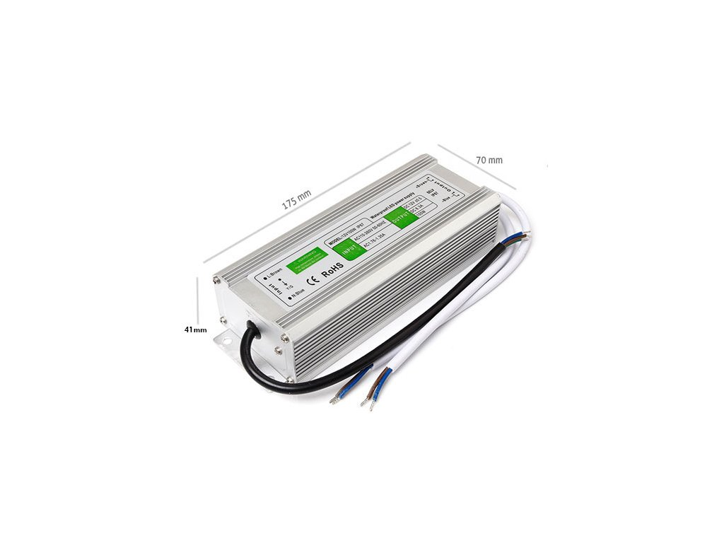 full zasilacz 12V 100W IP67