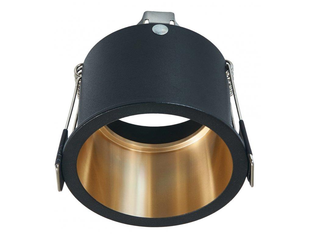Zapuštěné podhledové svítidlo GU10 71066 - černé