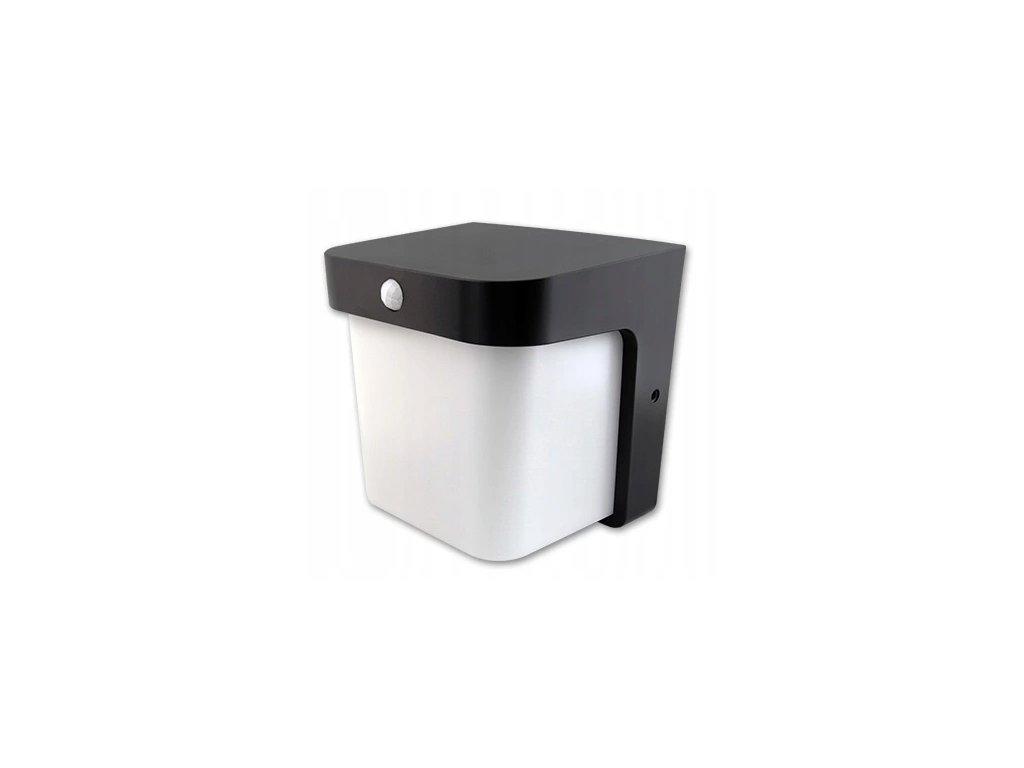Oprawa architektoniczna LED Corgi 12W PIR czarna