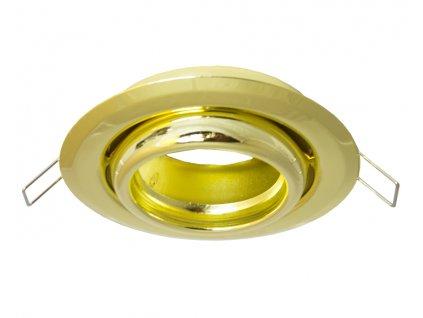 full led bodovky kruh zlata 70443