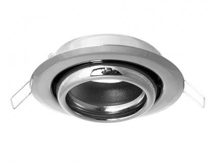 full led bodovky kruh chrom 70439
