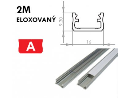full 2m eloxovany