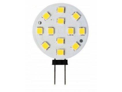 Zarowka LED G4 2W SMD b zimna 180lm TALERZYK