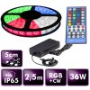 full berge led pasek rgb ip65 sada2