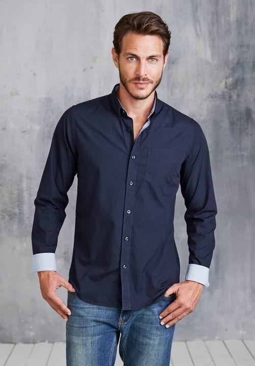 Pánské košile dl. rukáv