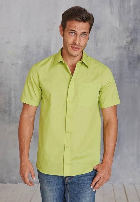Pánské košile kr. rukáv