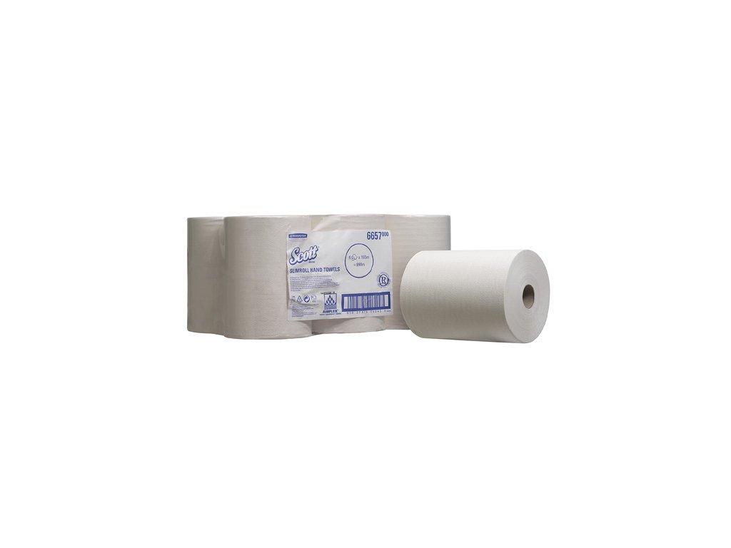 Papírové ručníky v roli - SCOTT SLIMROLL