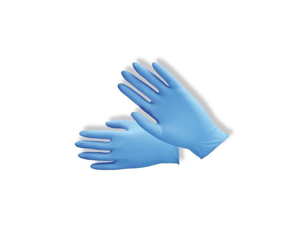 Nitrilové nepudrované rukavice PD-NT-PWF