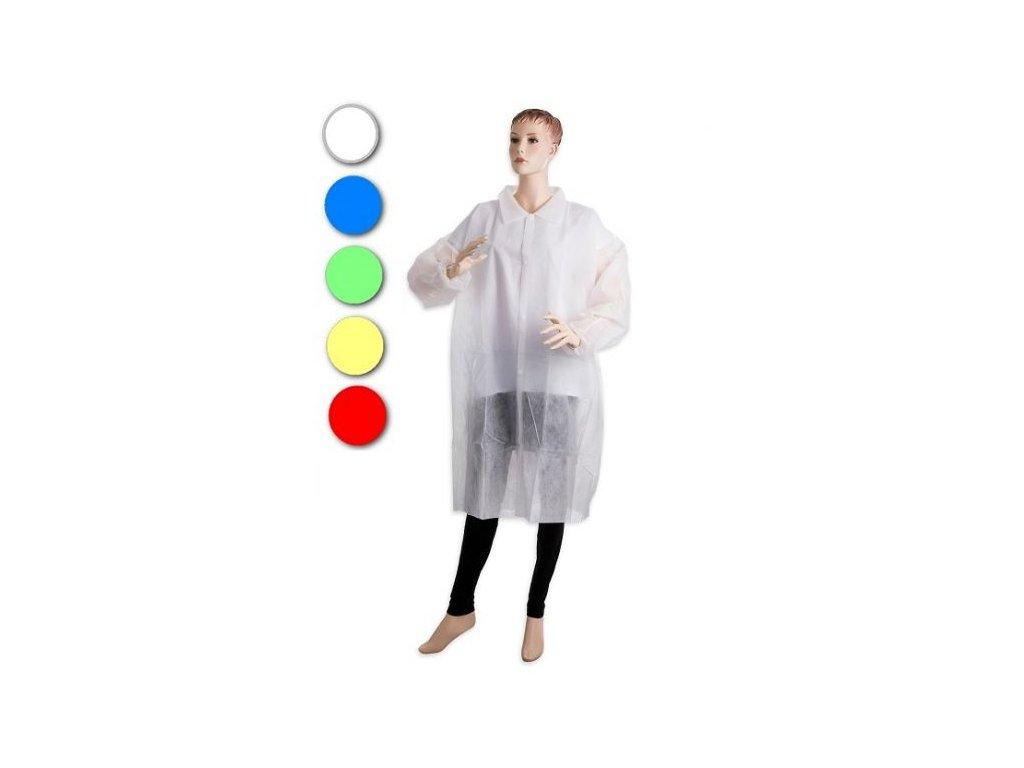 PD-PLAST Plášť se stiskacími knoflíky, v 5 barvách