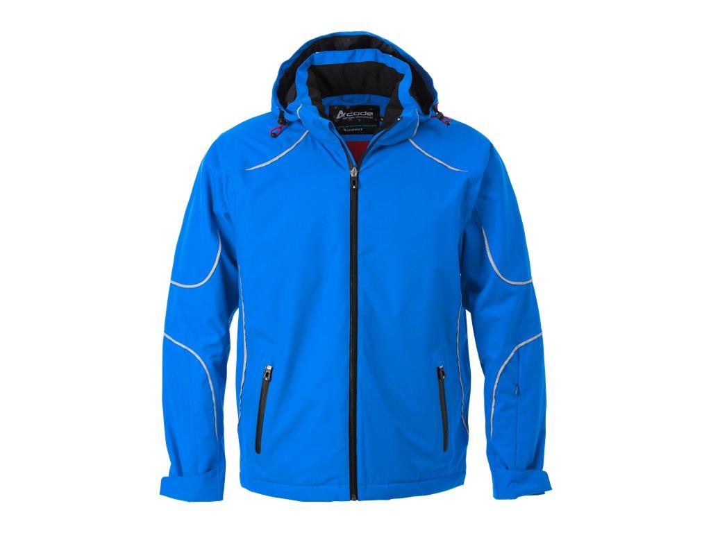Pánská sportovní zimní bunda 1407 - královsky modrá - 3XL