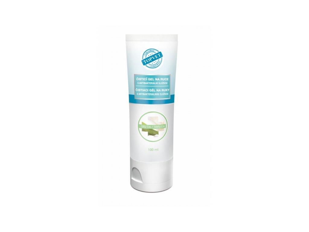 Topvet - Antibakteriální gel na ruce 100ml - Hedvábí