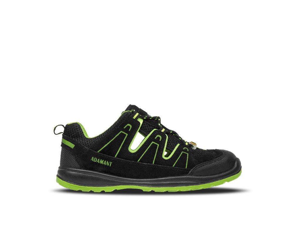 ADM ALEGRO S1P ESD Green Sandal