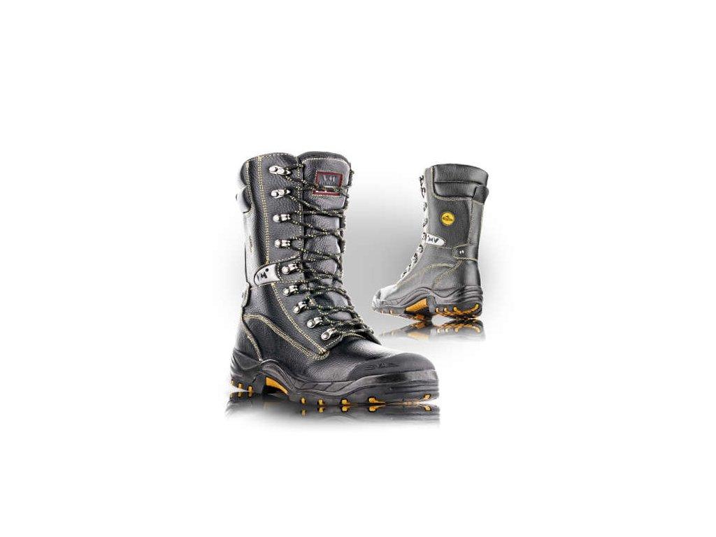 Bezpečnostní protipořezová obuv BELFAST S3