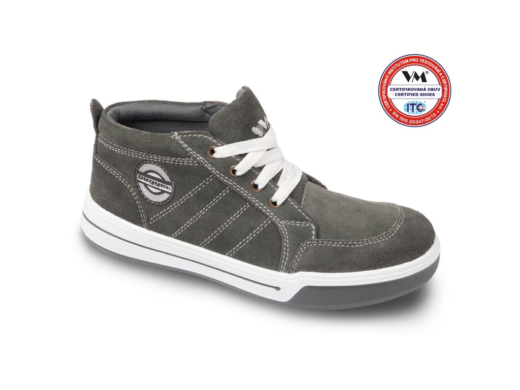 Celokožená polokotníková pracovní obuv RICHMOND O1