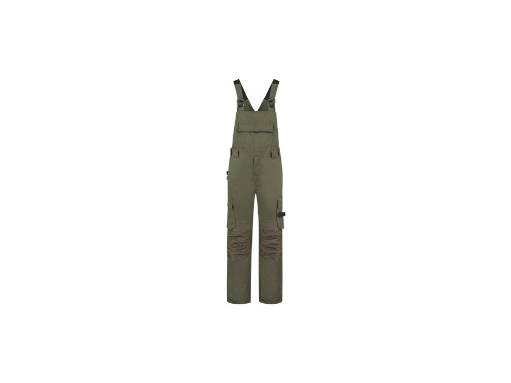 Bib & Brace Twill Cordura Pracovní kalhoty s laclem unisex
