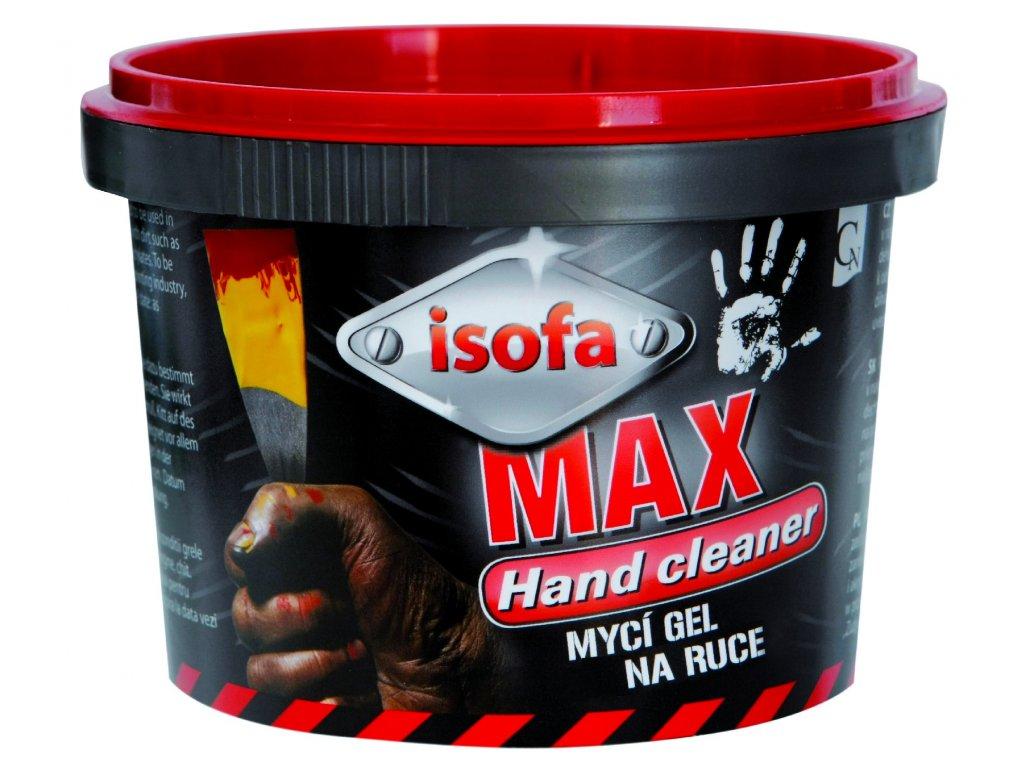 ISOFA MAX, profi mycí gel na ruce 450 g, GEAR