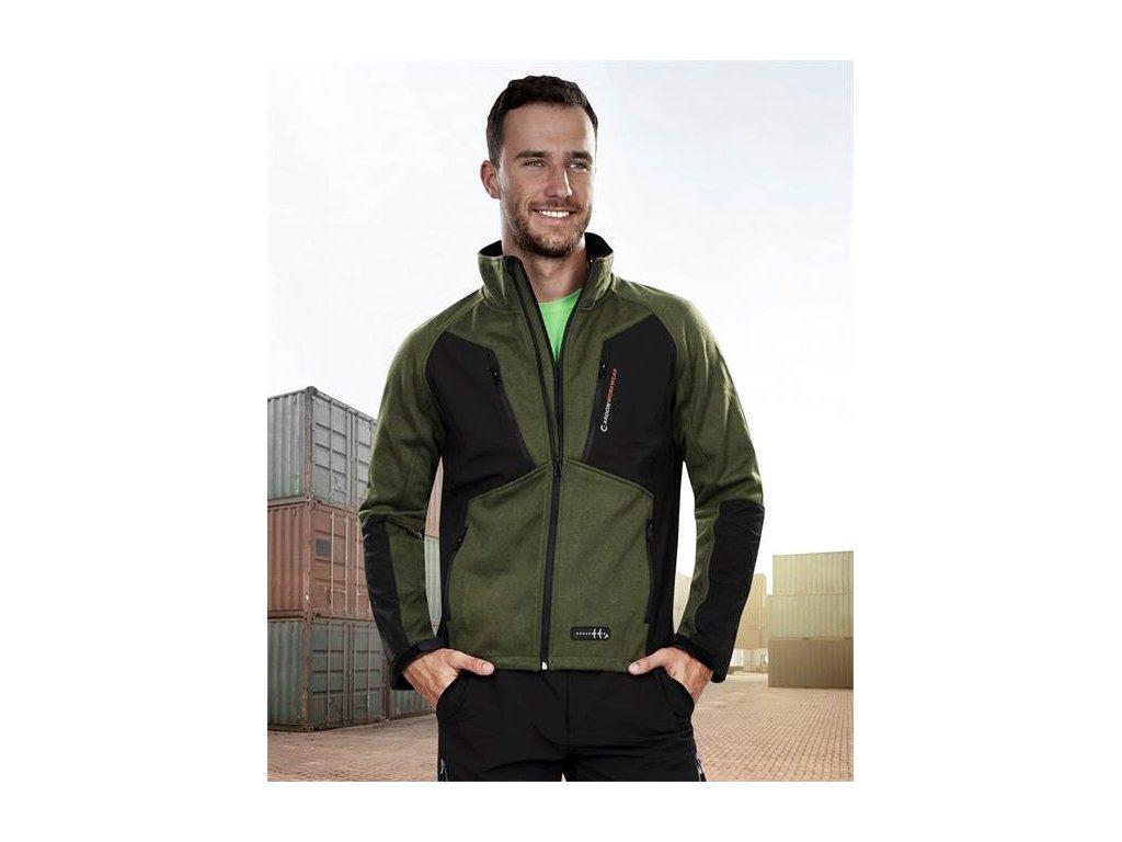 OLIVER bunda, zelená – DOPRODEJ S