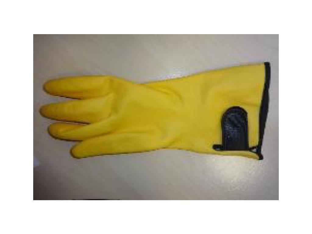 Nitrilové rukavice s podšívkou NUBI