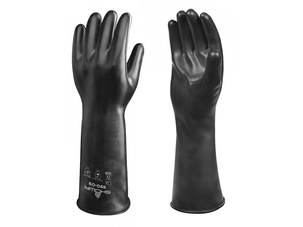Protichemické rukavice SHOWA Best Viton Ref 890E