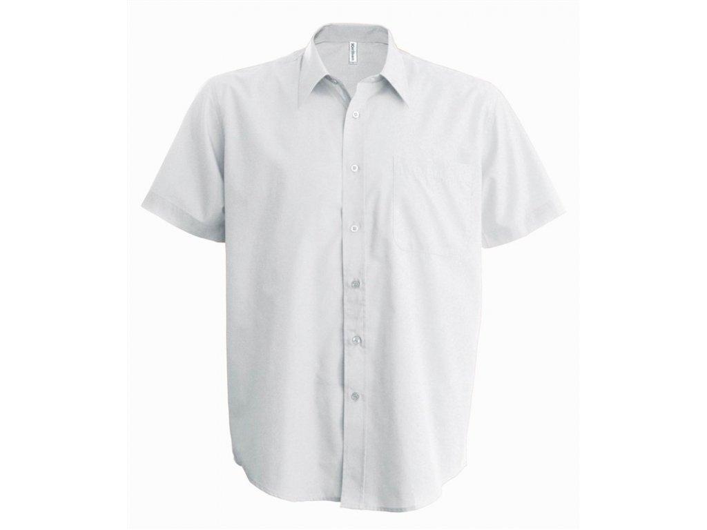 Pánská košile krátký rukáv v nežehlivé úpravě K539 - BERGER SAFETY ... ae890344e8