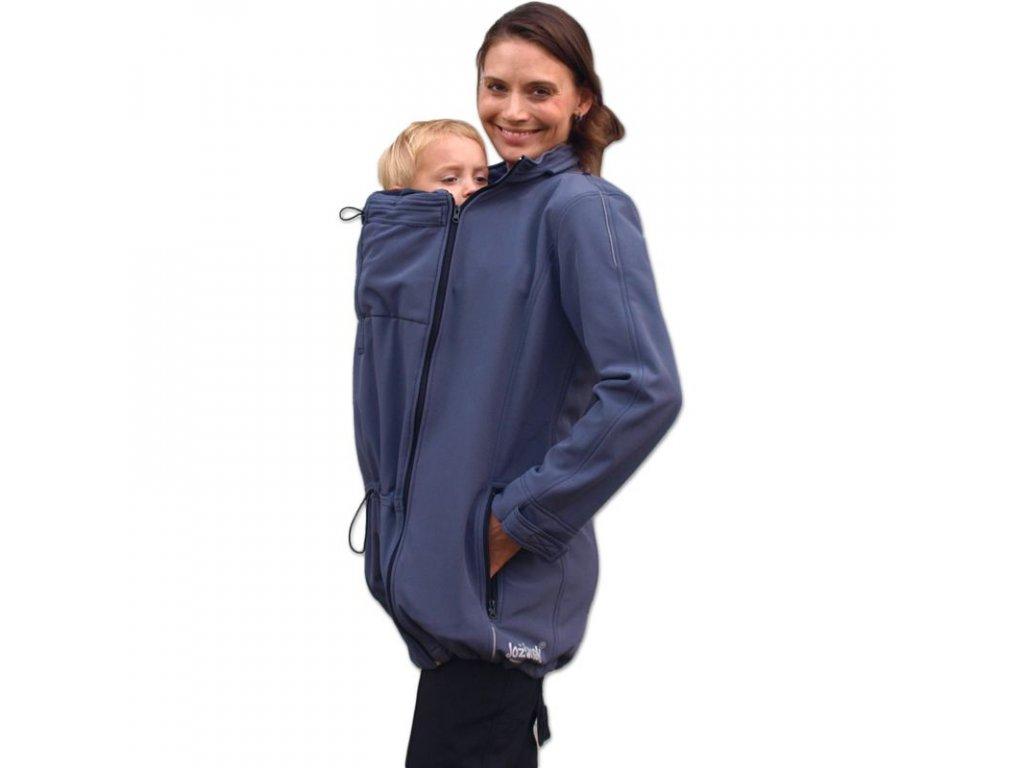 SANDRA - softshellová bunda pro těhotné ženy a nosící maminky